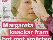 Margareta knackar fram…
